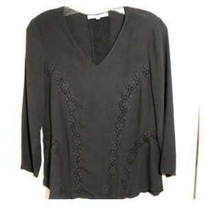 Daniel Rainn Ladies Blouse in Charcoal Color - S